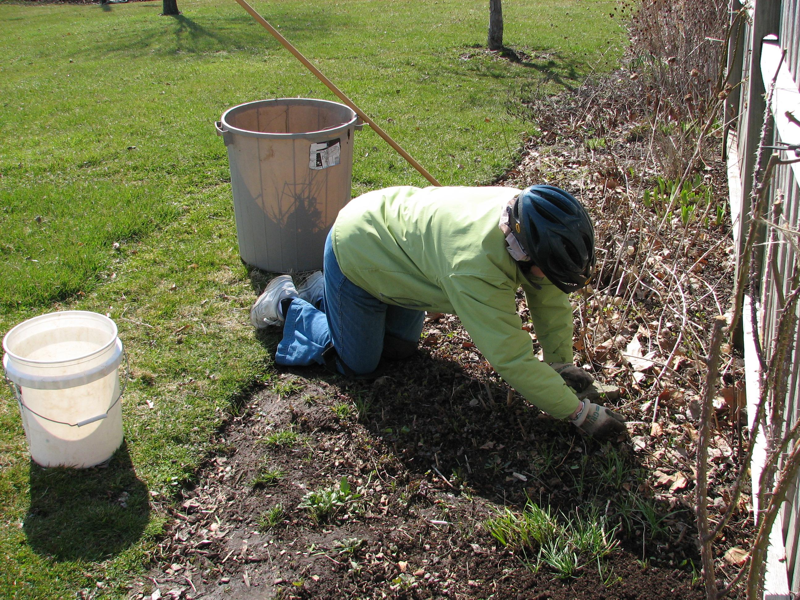 About piermont community garden - Weeding garden make work easier ...